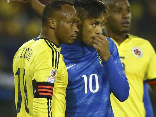 zuñiga vs neymar copa america