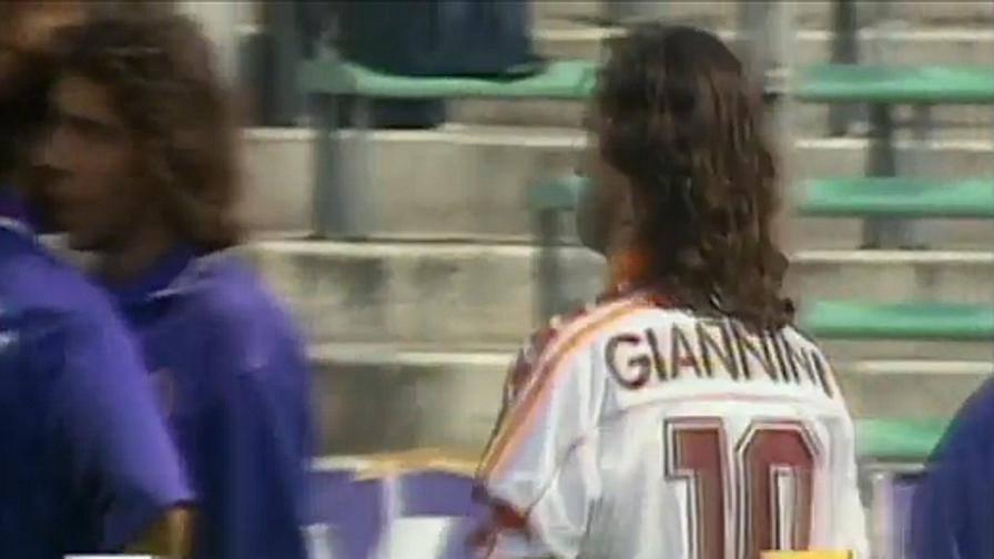Fiorentina roma 39 96 l 39 ultima in giallorosso di giuseppe for Di giuseppe arredamenti roma