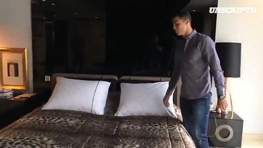 Ronaldo entrate questa la mia casa video for La casa di ronaldo a torino