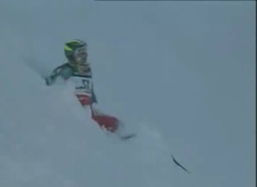 Il volo pazzesco di Vitalini<br/>Salvo per miracolo