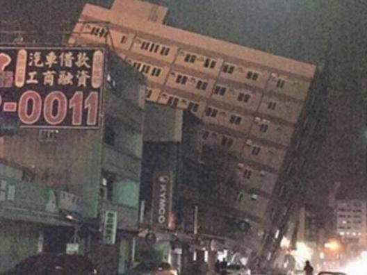 Forte terremoto a Taiwan: prime immagini impressionanti