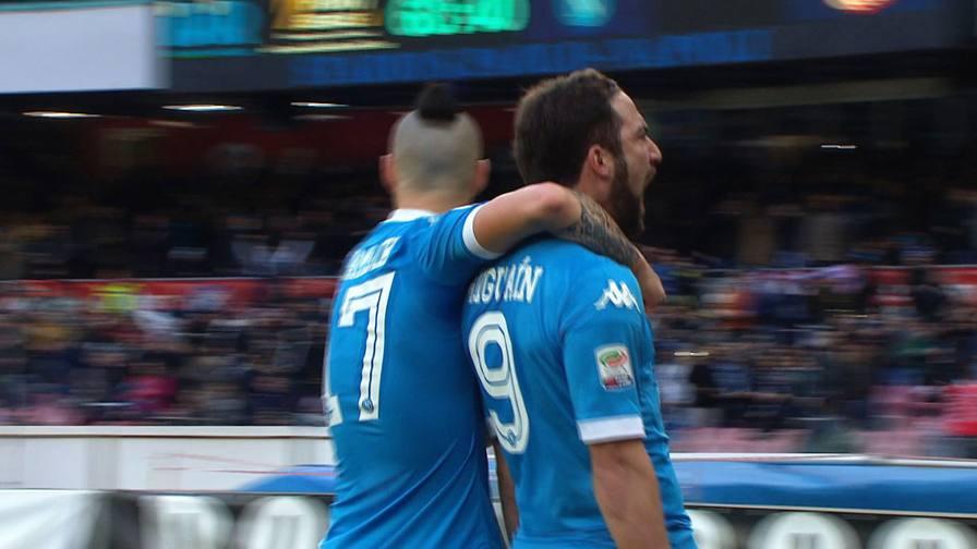 Higuain gol, Dybala risponde<br/>Guarda tutti le reti della A
