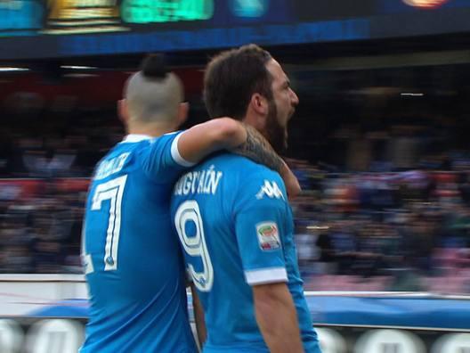 Serie A: Higuain in gol e Dybala risponde, guarda tutti le reti della A