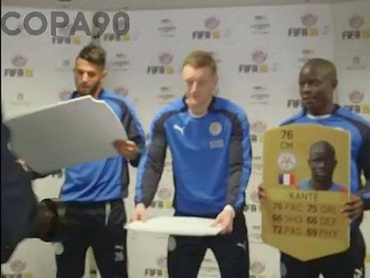 Leicester, Vardy spacca a testate il vecchio rating di Fifa16