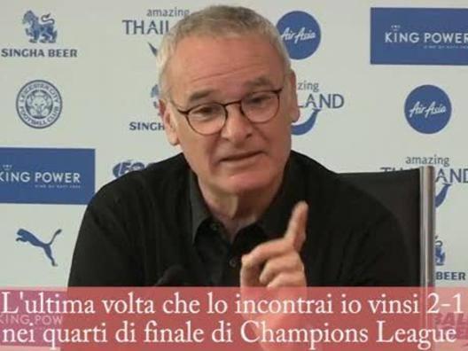 Ranieri sfotte a Wenger: