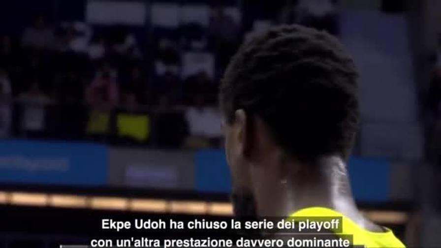 MVP gara-3 quarti: Ekpe Udoh, Fenerbahce Istanbul