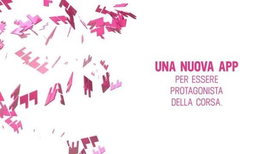 Un Giro d'Italia a portata di mano con la app