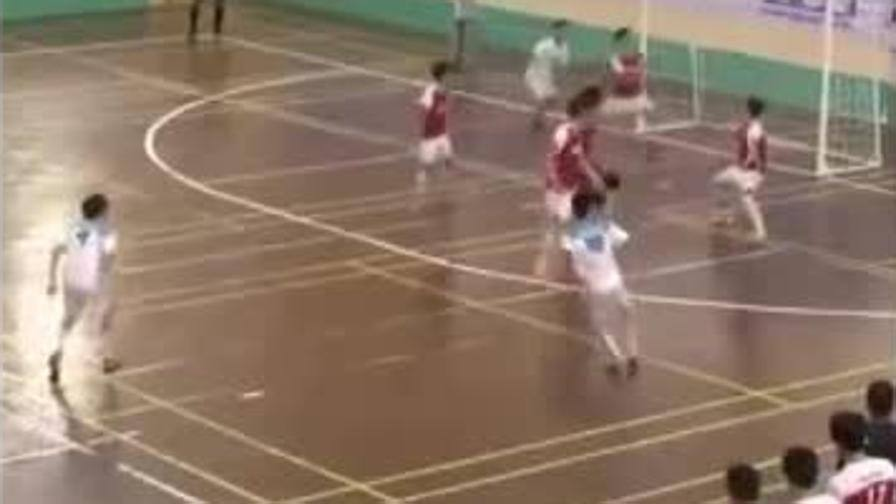 Futsal: la punizione mai vista