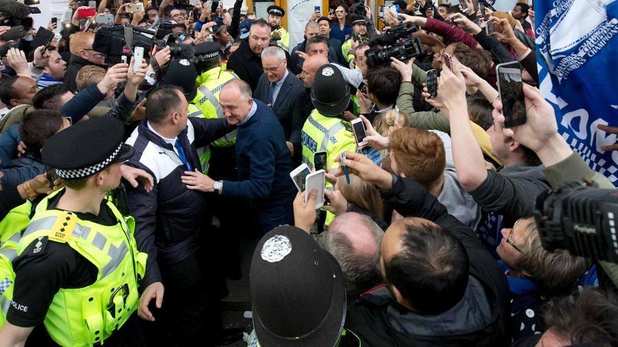 Delirio dei tifosi a Leicester<br/>Re Claudio il pi� acclamato