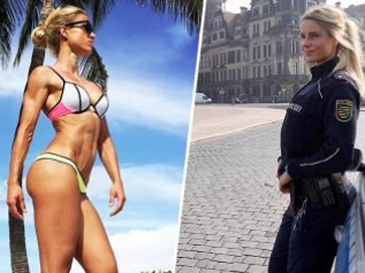 Poliziotta mozzafiato e star del web: