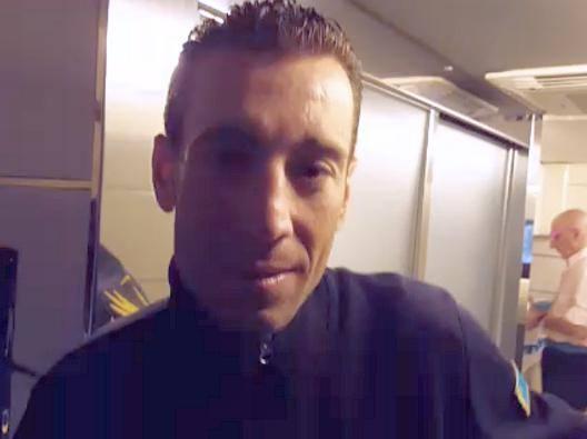Giro: Nibali, in viaggio sul pullman Astana verso la passerella di Torino
