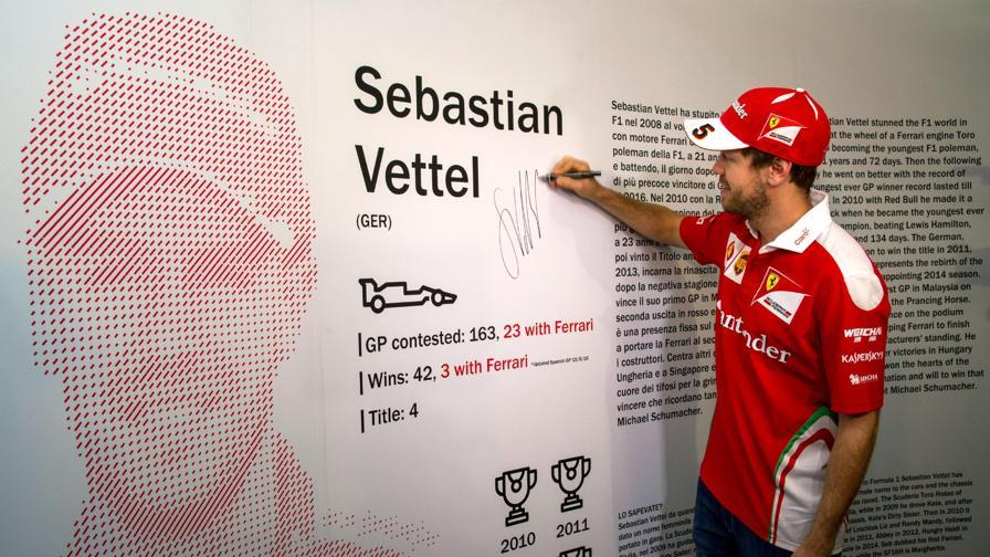 Vettel Ferrarista per sempre