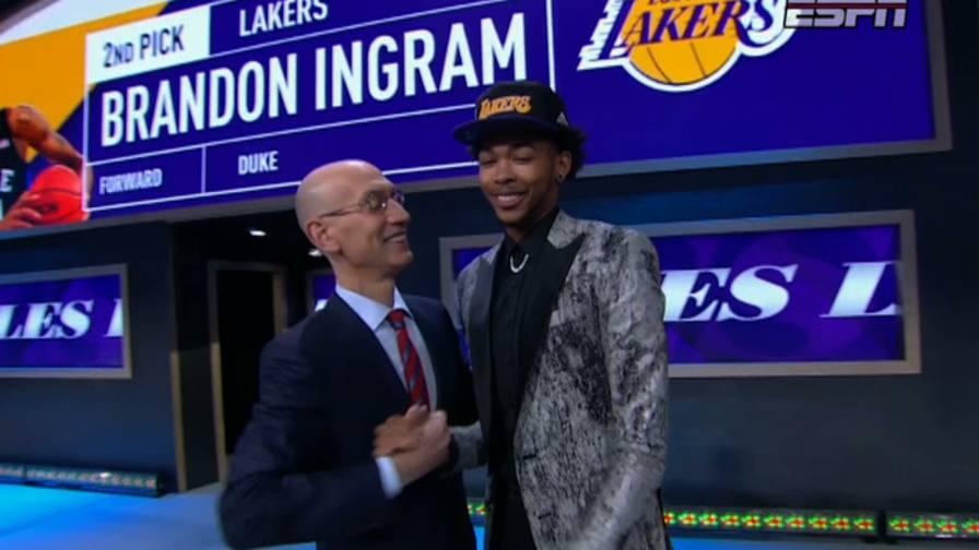 Lakers, ecco Ingram. � lui<br/>la seconda chiamata al draft