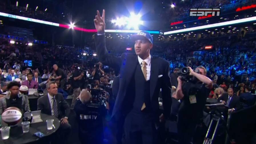 """Il Commissioner annuncia:<br/>""""Con la 1� scelta i Sixers..."""""""