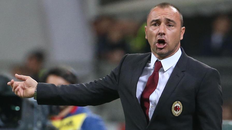 Brocchi da allenatore del Milan