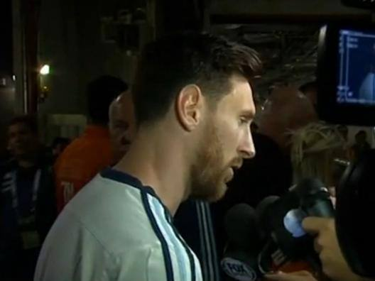 Messi a pezzi: