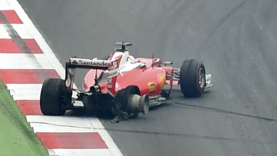Le maniere forti di Hamilton <br>Vettel 8, ma la strategia...