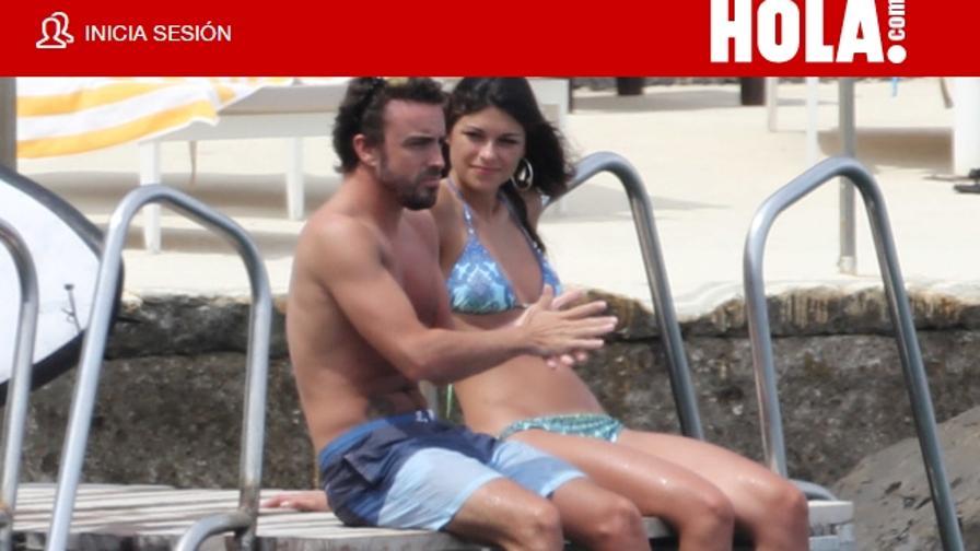 La ex di Vale ora sta con Alonso