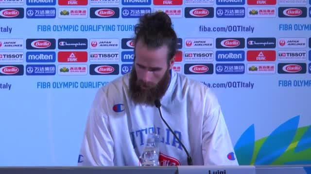 090716 Datome conferenza stampa dopo la finale Croazia Italia