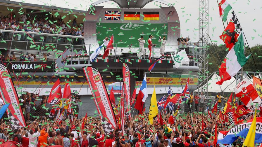 Rosberg-Tifosi, siete i Top<br>Verstappen, dove sei?