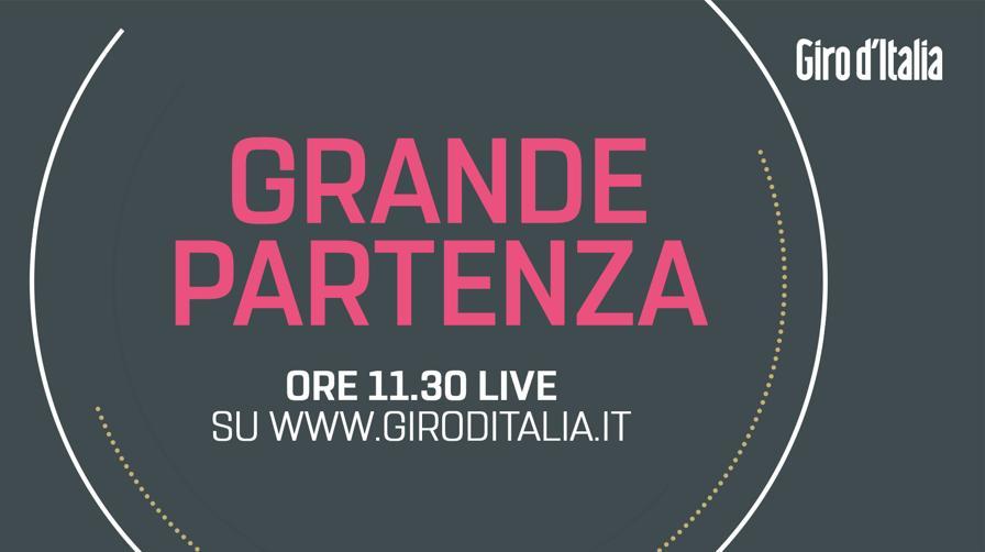 LIVE Giro d'Italia, edizione n. 100: la presentazione