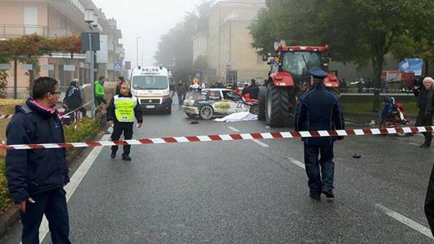 Auto sulla folla: un morto a San Marino