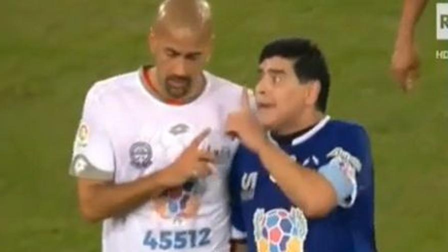 Diego-Veron, un brutto litigio