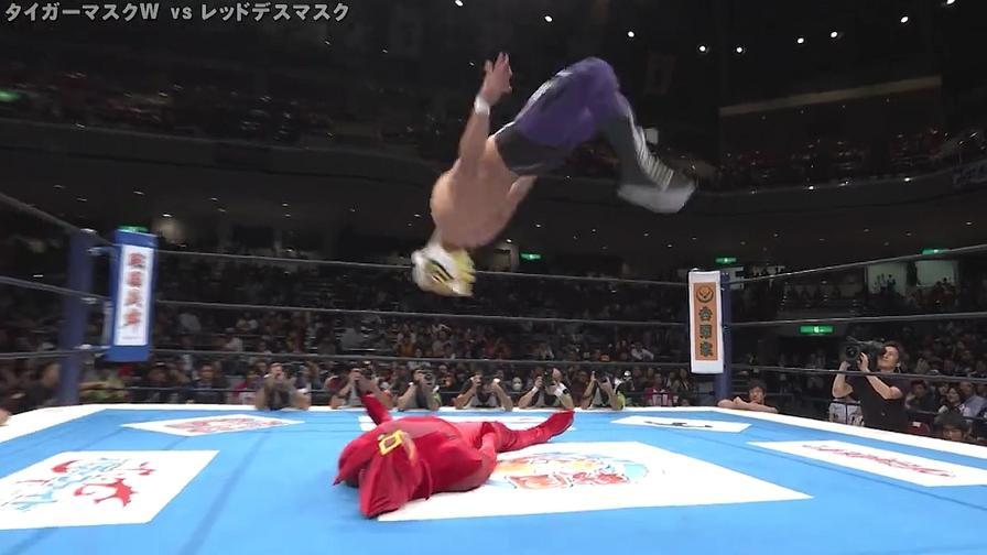 Torna Uomo Tigre, delirio in Giappone