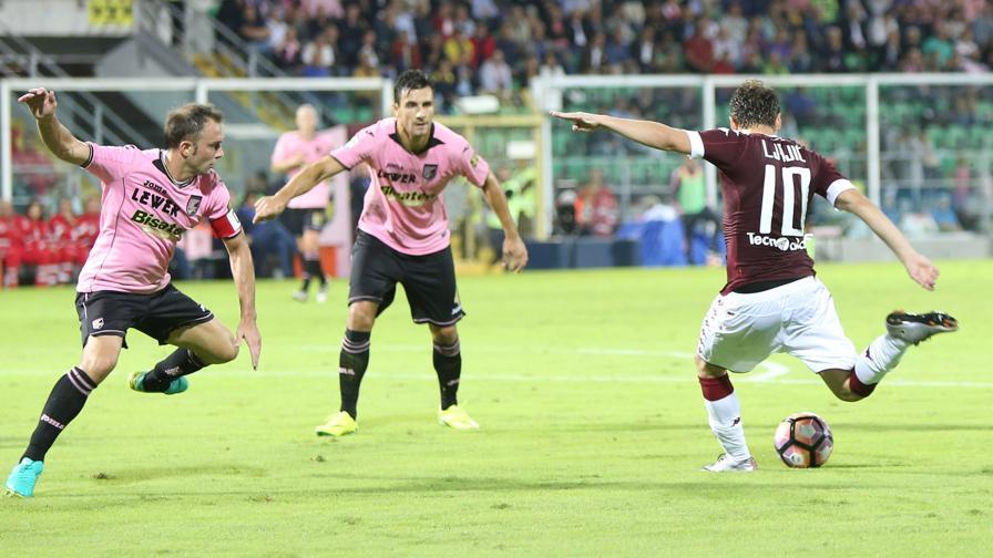 Palermo-Torino: Ljajic, due gol capolavoro