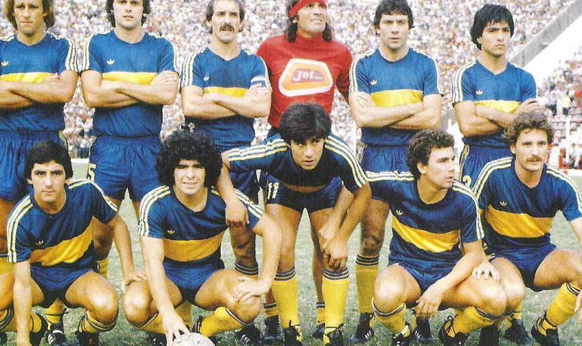 Quando Maradona deliziava il Boca