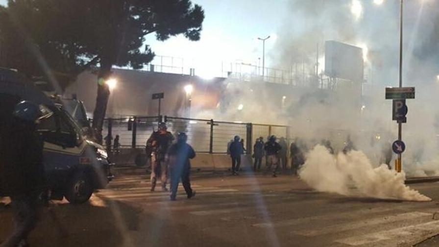 Atalanta-Roma, incidenti dopo la partita: diretta video da Bergamo