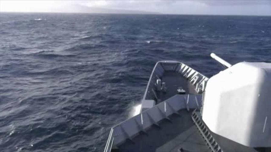 Giro del Mondo in Vela: incontro nell'Oceano Indiano