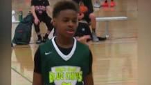 Lebron Jams Jr.., 12 anni, figlio del fuoriclasse dei Cavs