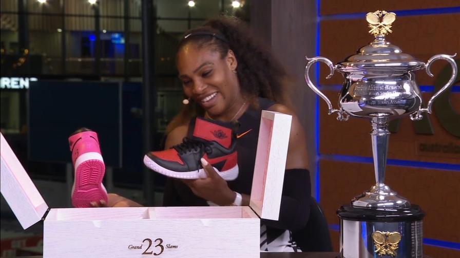 Il regalo di Michael Jordan a Serena