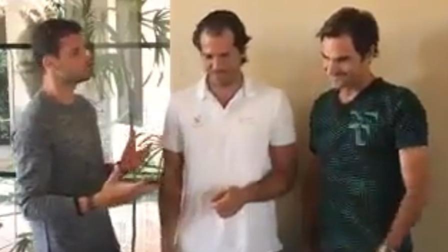 Djoko-Federer, futuro da cantanti?