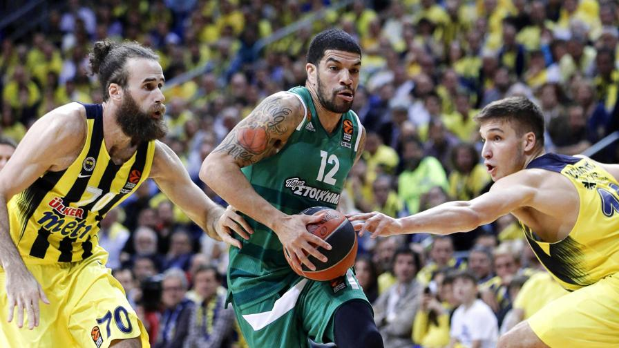 Fener, show col Pana, Datome alle Final Four
