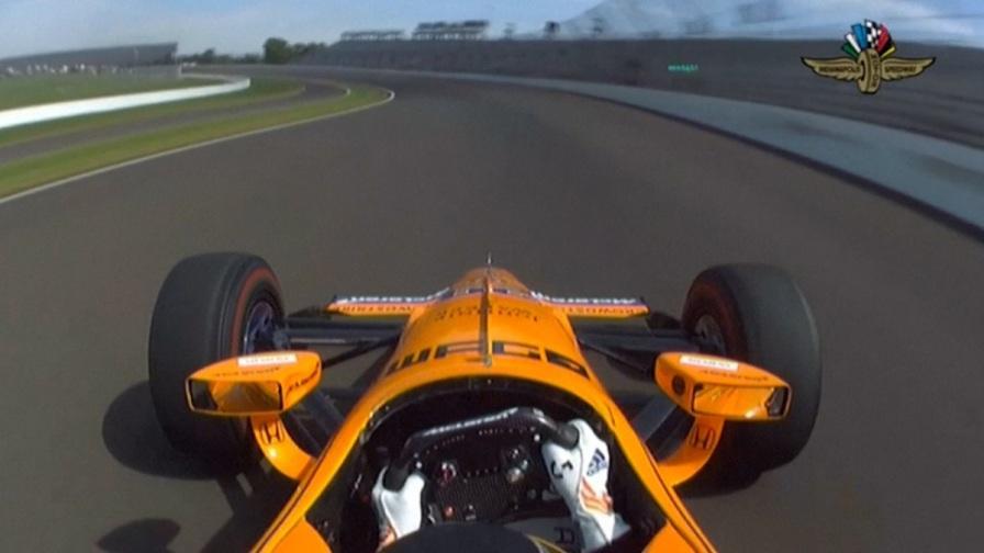Indianapolis, Alonso corre la sua prima 500 Miglia