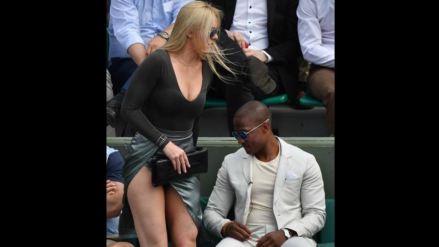 Lindsey Vonn, star al Roland Garros