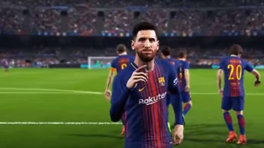 Spettacolo da console, il trailer di PES 2018