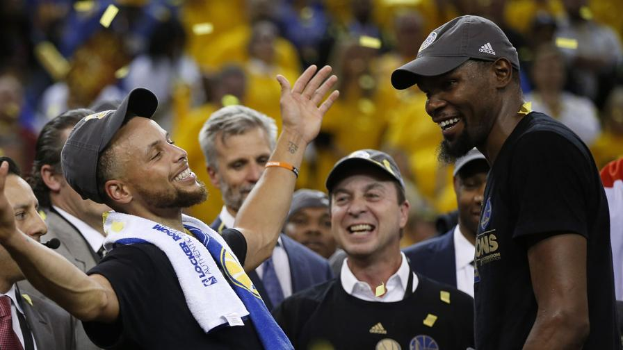 "Durant a Curry: ""Nessuno come te"""