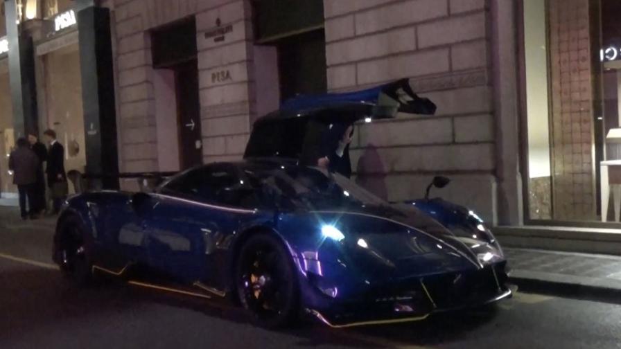 inter, l'auto da 2,3 milioni di euro del figlio del patron zhang
