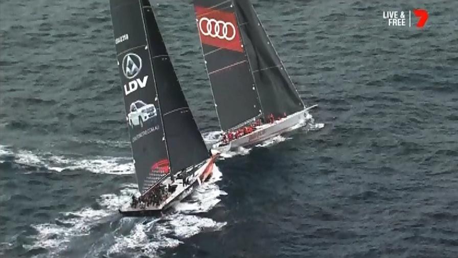 Sydney-Hobart, quasi collisione fra due maxi-yacht