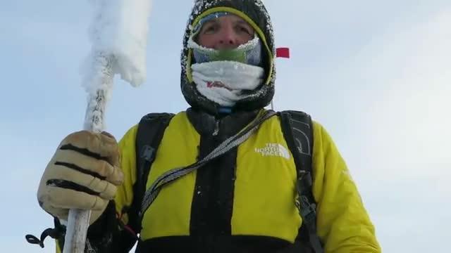 Il video della vetta <br>Lunger-Moro su Pik Pobeda