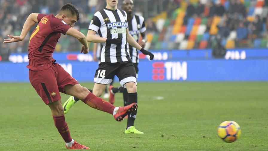 Ünder, che sassata: guarda il gol all'Udinese
