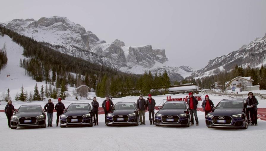 Audi, che spettacolo 20Quattro ore delle Alpi
