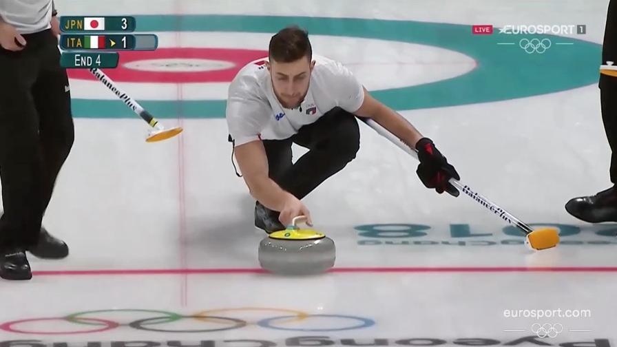 L'Italia del Curling perde 5-6 con il Giappone