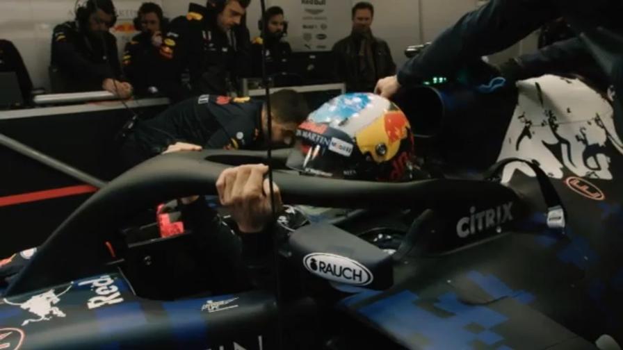 Le prime immagini della nuova Red Bull di Formula 1