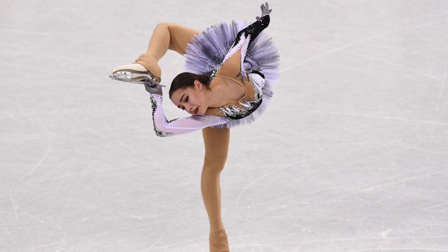 Alina, 15 anni, regina del ghiaccio: un incanto a PyeongChang