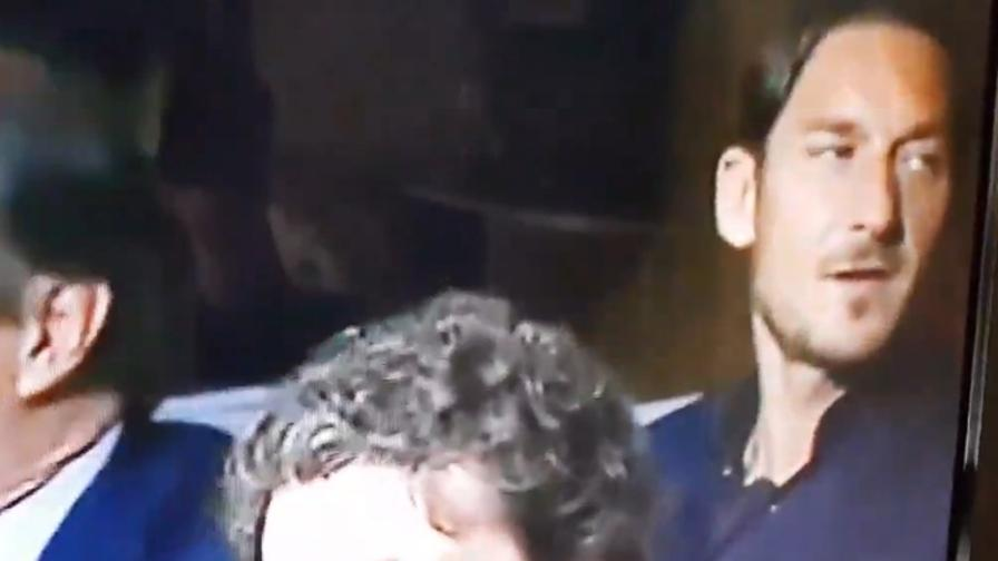 "Totti gufa la Juve: ""Real... Real..."""