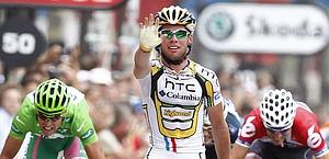 La vittoria di Mark Cavendish